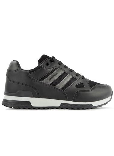 Slazenger Slazenger Maroon Sneaker Kadın Ayakkabı    Siyah